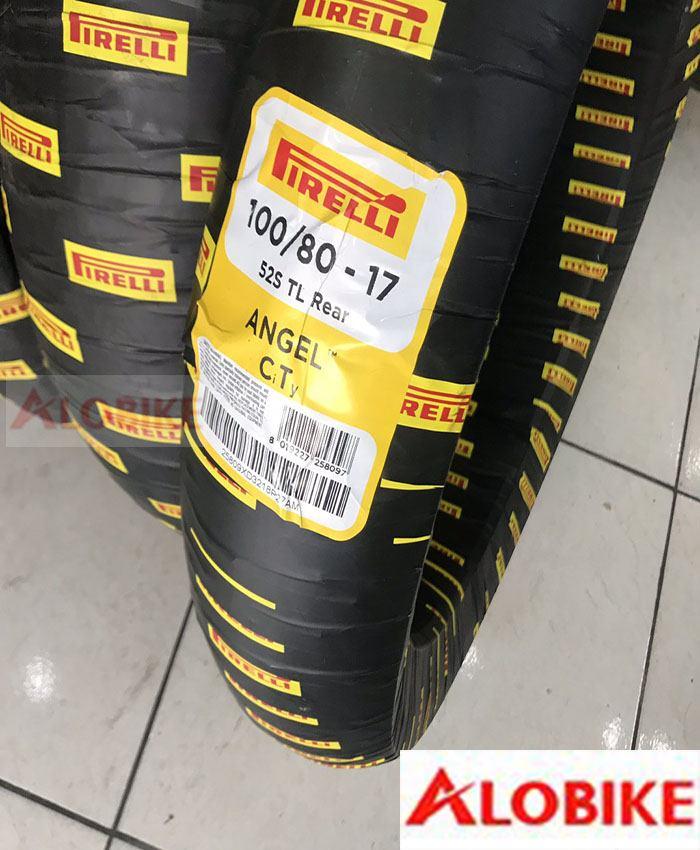 Lốp pirelli 100/80-17 Angel CiTy xe Exciter