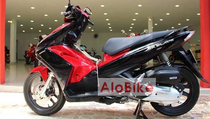 Xe AirBlade 2015 màu đỏ đen
