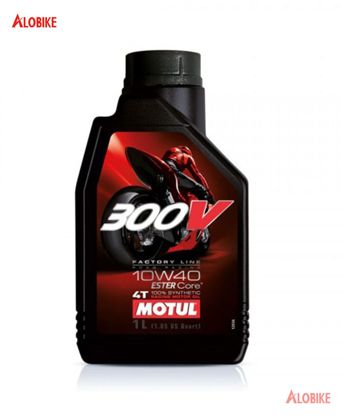 Nhớt Motul 300V Factory Line Road Racing 10w40 cho xe moto