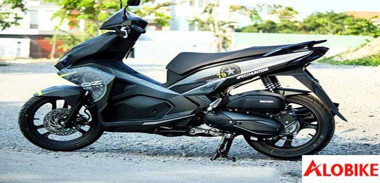 8 mẫu Honda air blade 2016 độ đẹp, air blade 2015 black edition độ cực ngầu