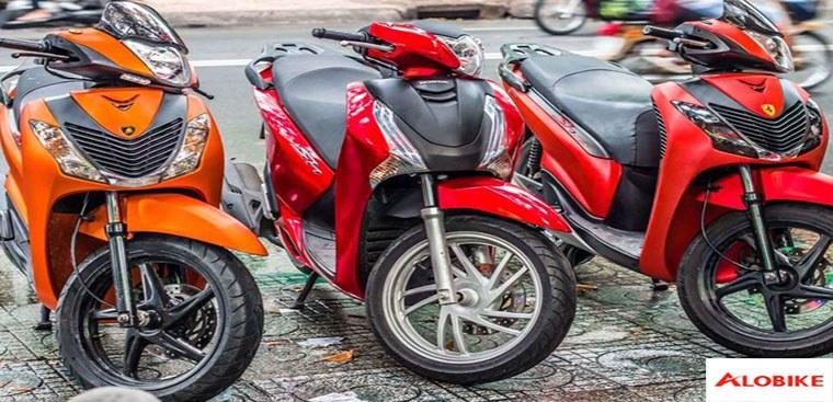 Dán xe Sh màu đỏ nhám, đỏ đen hay đỏ tươi? Màu nào đẹp