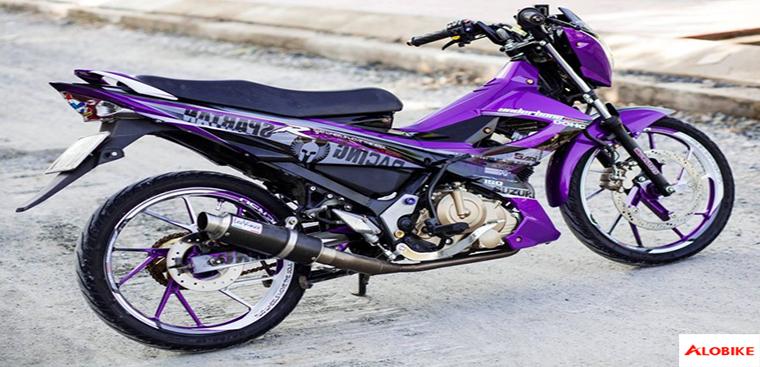 Raider 150 độ hàng khủng đẹp nhất của biker Việt
