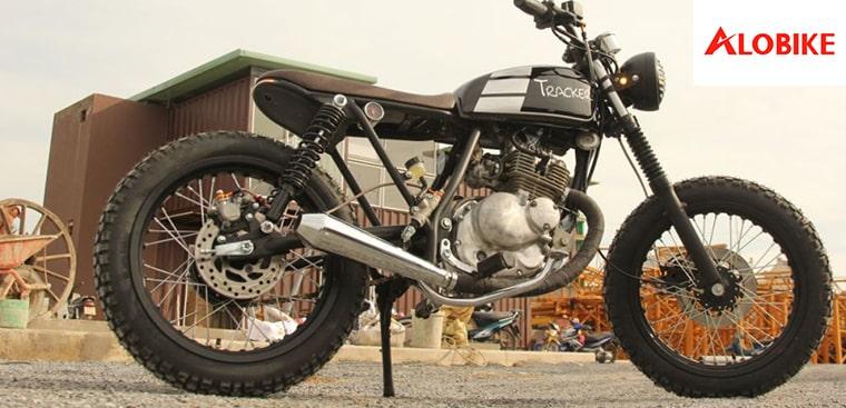 Phong trần với Suzuki GN150 độ Cafe Racer và GN125 độ Bobber