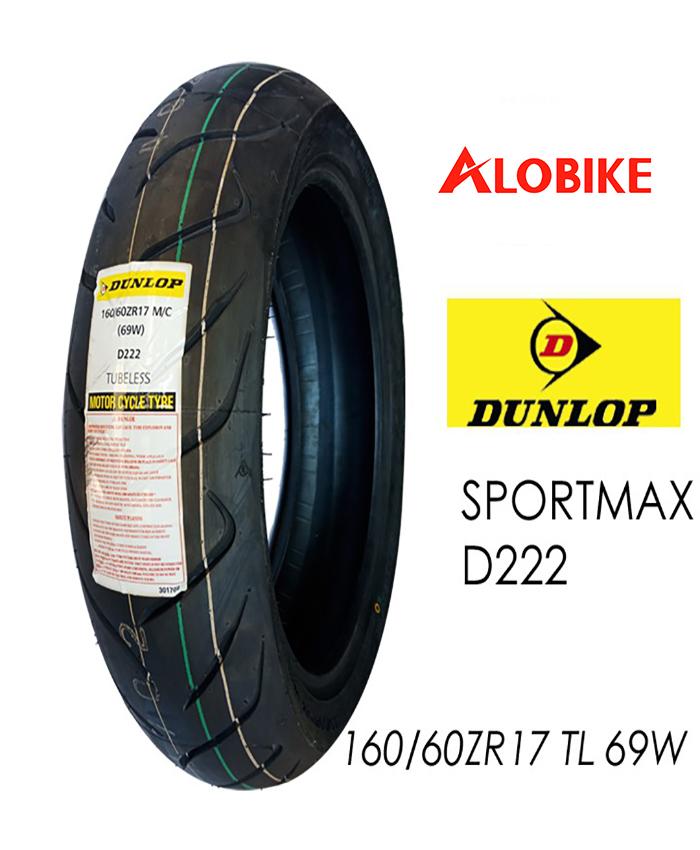 Lốp Dunlop 160/60 ZR17 69W/TL D214W