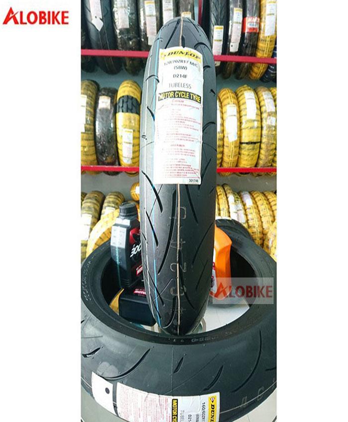 Lốp Dunlop 120/70-17 D214FW