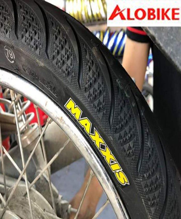 Lốp Maxxis 80/90-17 TL 44P cho lốp sau xe Sirius