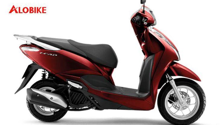 Xe LEAD màu đỏ