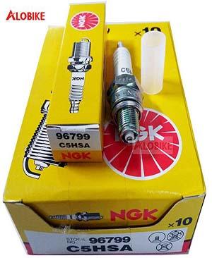 Bugi NGK C5HSA chân ngắn chính hãng