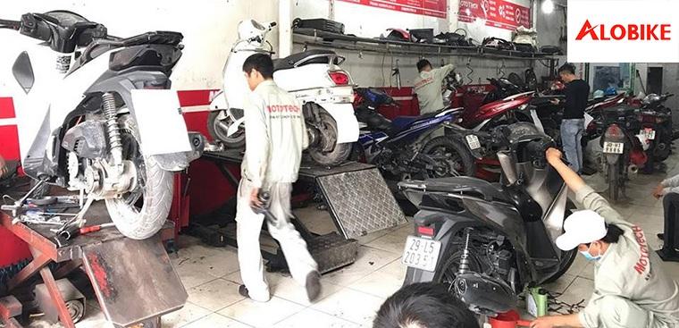 Nên mua sơn xe máy ở đâu uy tính nhất tại Hà Nội